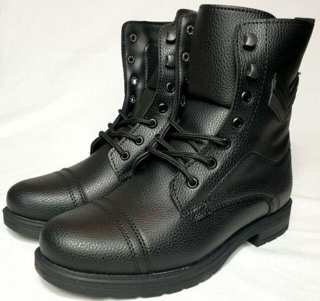 Neu Herren Damen Stiefel Schnür Boots Stiefeletten Winterstiefel Winter Schuhe
