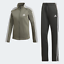 Adidas-Damen-Leichtathletik-Vlies-A-Weich-Fleece-Trainingsanzug-Gruen Indexbild 1