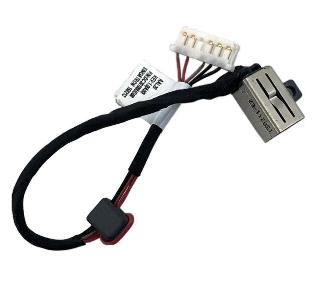 DC Puissance Jack Harnais Câble Dell Inspiron 15-5000 Series P51F DC30100VV00 Socket