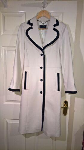 Wit London Ladies 8 Coat Vk zwart Coast xPUdXqwU