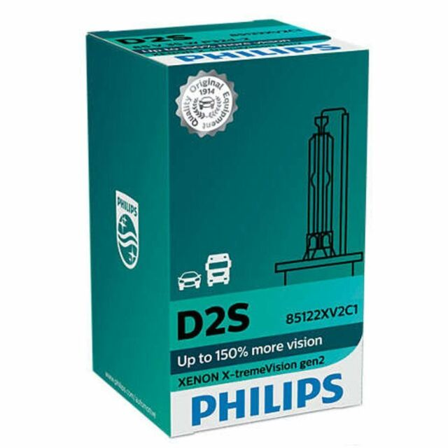 Philips D2S X-tremeVision Xenon - Auto Intensives Weiß Lampe Single 85122XV2C1