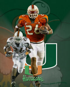 new style a7436 06467 Miami Hurricanes Lithograph print of Sean Taylor | eBay