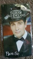Tales Of Old England Bow Tie, Satin, Black