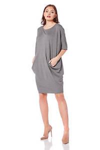 Roman Originals Women/'s Jersey Cocoon Dress Sizes 10-20