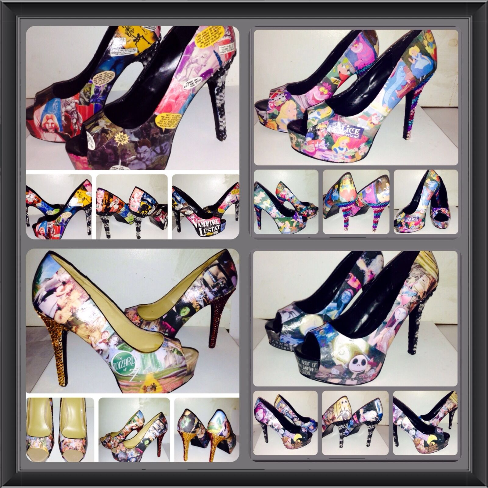 Custom Made Made Custom Cartoon Or Movie Schuhes 63c2b5