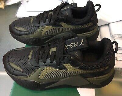 NIB Men's PUMA size 11 RS-X Winterized sneakers Black Green 370522-03   eBay