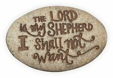 The Lord is My Shepherd Psalm 23:1 Pocket Stone (17122) NEW from AngelStar