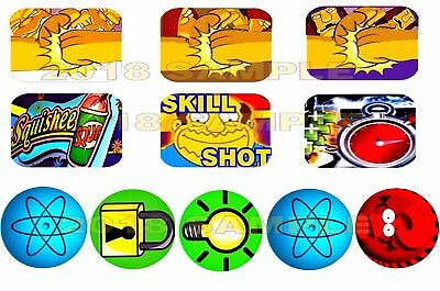 LIFETIME WARRANTY ......TWISTER PINBALL TARGET BODY ARMOUR-NEW MATERIAL