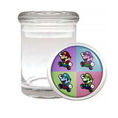 Pop Art D8 ODORLESS AIR TIGHT MEDICAL GLASS JAR CONTAINER Pop Culture