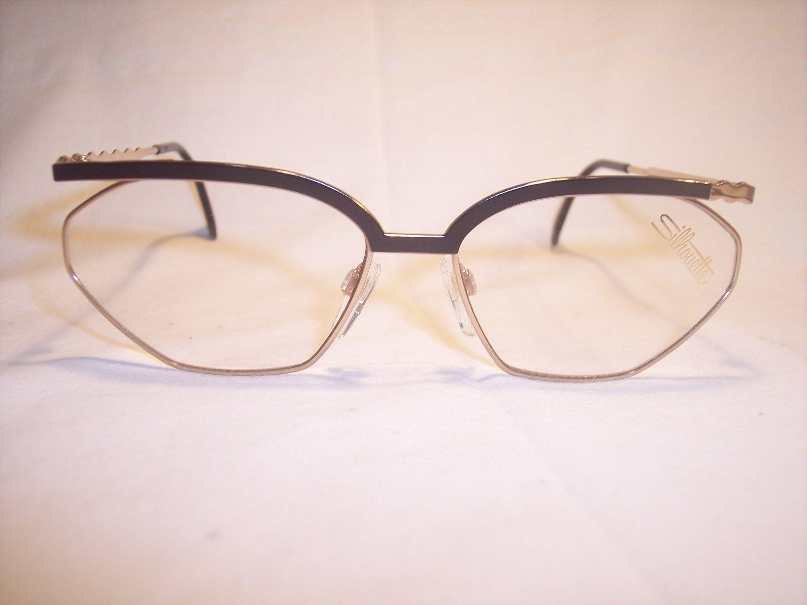 Damenbrille Damenbrille Damenbrille Eyeglasses by SILHOUETTE Austria 100% Original-Vintage 80 90er | Spaß  | Stilvoll und lustig  | Zu verkaufen  2ae0aa