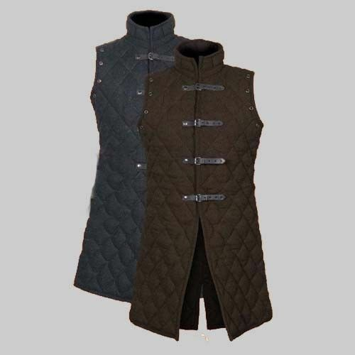 Thick Padded Jacket COSTUMES DRESS SCA vest Medieval Gambeson