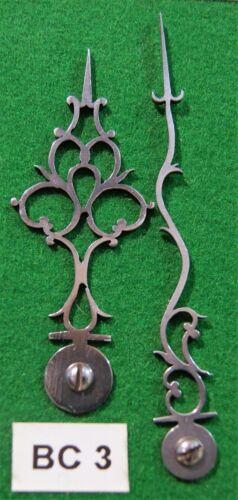 Antique clock steel hands, original design (Bracket clock) BC3 *Made in England*