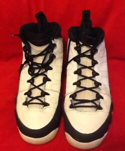 cdac4e915c5d88 Air Jordan 9 Retro GS Playoff 302359 102 White Varsity Red Black Sz ...
