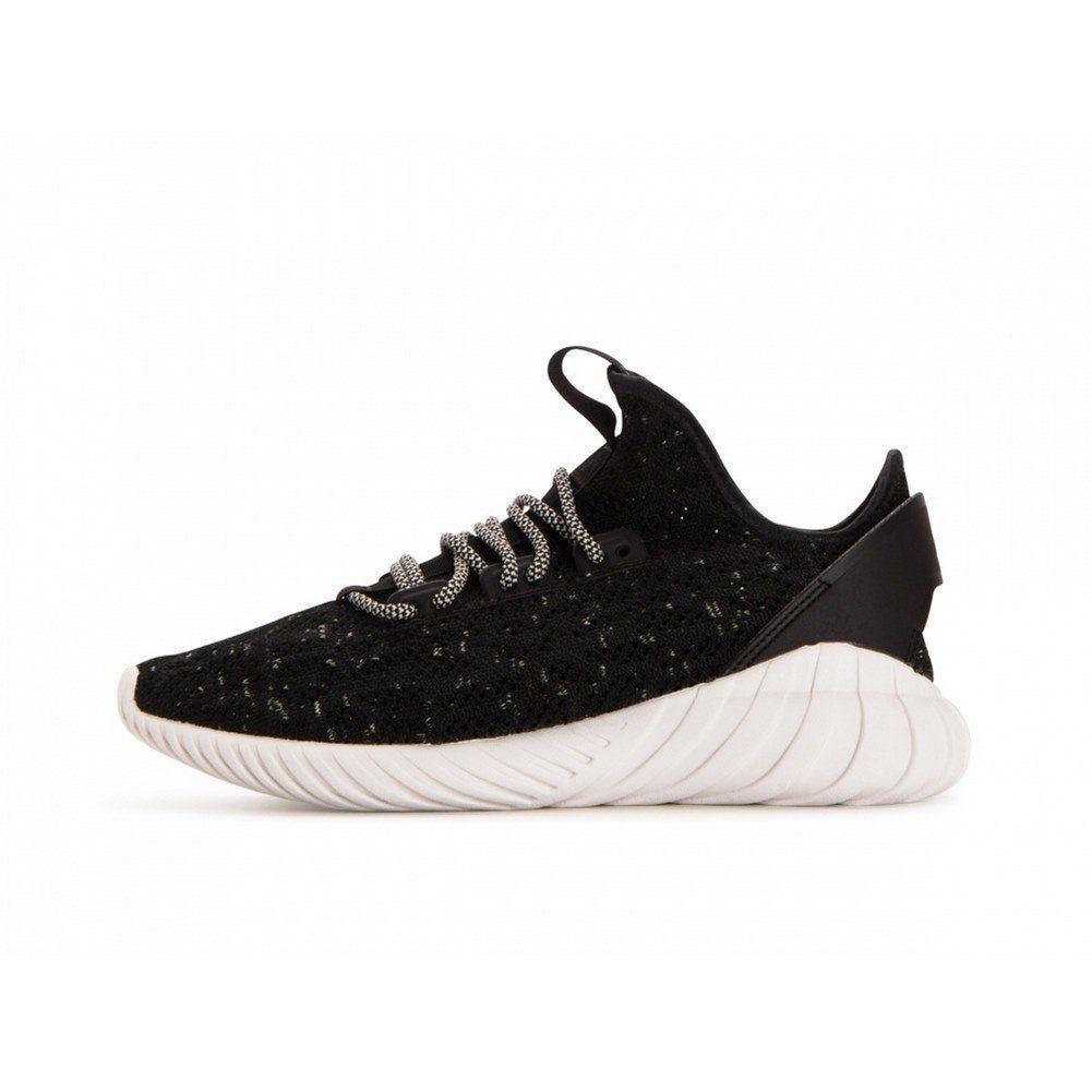 [cq0940} männer adidas originals tubuläre doom socke pk schwarz / weiß
