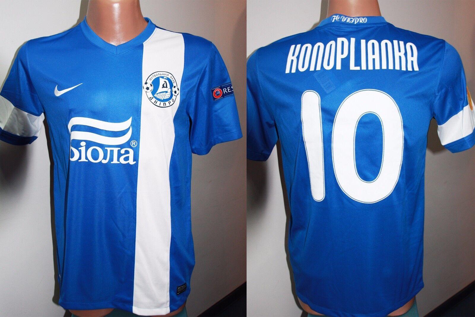 SHIRT FC Dnipro KONOPLIANKA KONOPLYANKA Schalke 04 MATCH WORN JERSEY JERSEY JERSEY 2013 14  | Stilvoll und lustig  fa19dc
