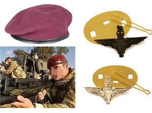 da91add03aa66 Image is loading NEW-Parachute-Regiment-Small-Crown-Silk-Lined-Maroon-