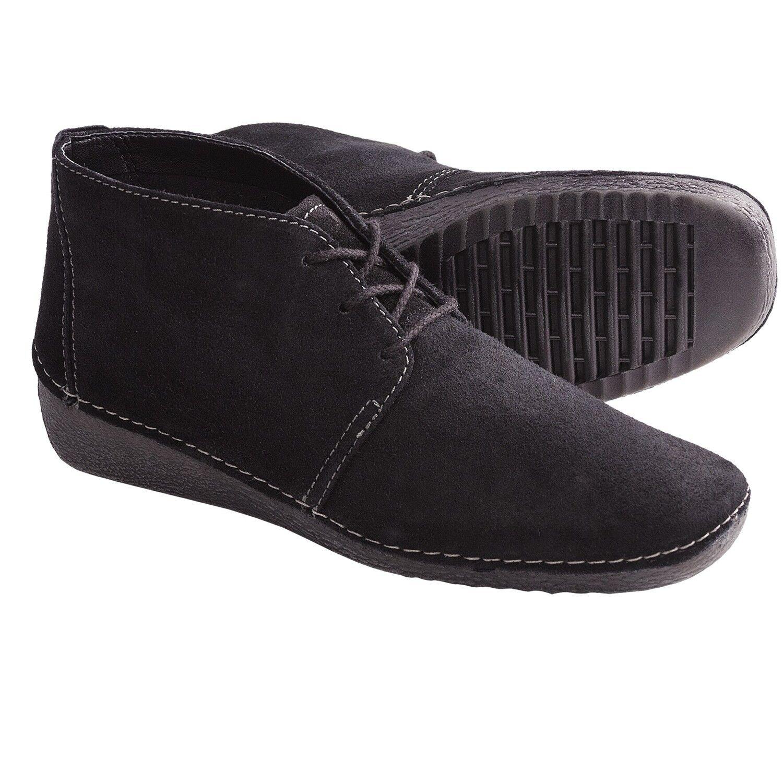 The Flexx Wouomo Welcome Back Loafer nero Soft Oily Suede scarpe