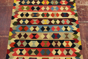 nomades-Kelim-tres-bien-piece-unique-PERSAN-TAPIS-tapis-d-039-Orient-1-45-X-1-00