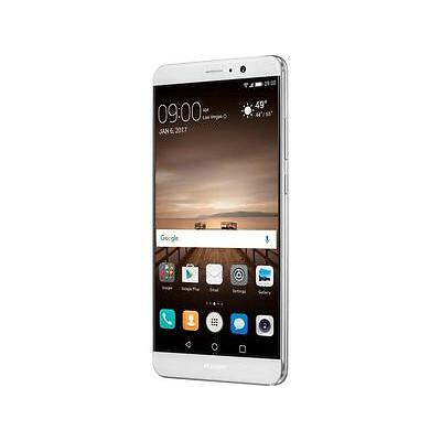 """Huawei Mate 9 Unlocked Smartphone with Dual Leica Camera (5.9"""" Silver, 64GB Stor"""