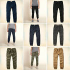 NEW Hollister by Abercrombie Men's Twill Jogger Pants Camo Khaki Navy Grey
