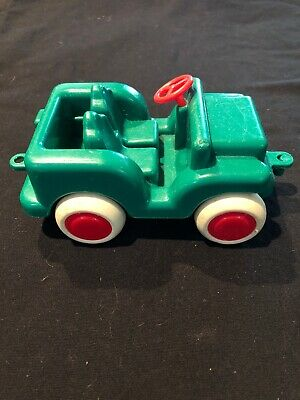 Vintage Viking Toys Sweden 1081 Green Plastic Toy Jeep Truck Rare Collectible Ebay