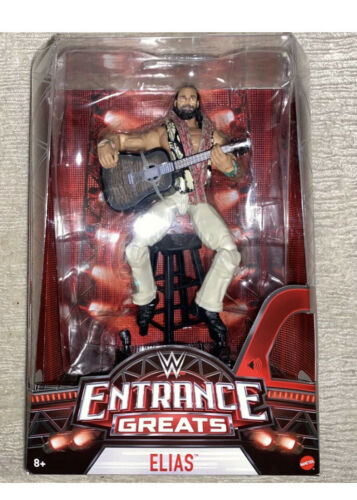 WWE Mattel Elite Entrance Greats Elias Figure Elite Talks New Free Ship