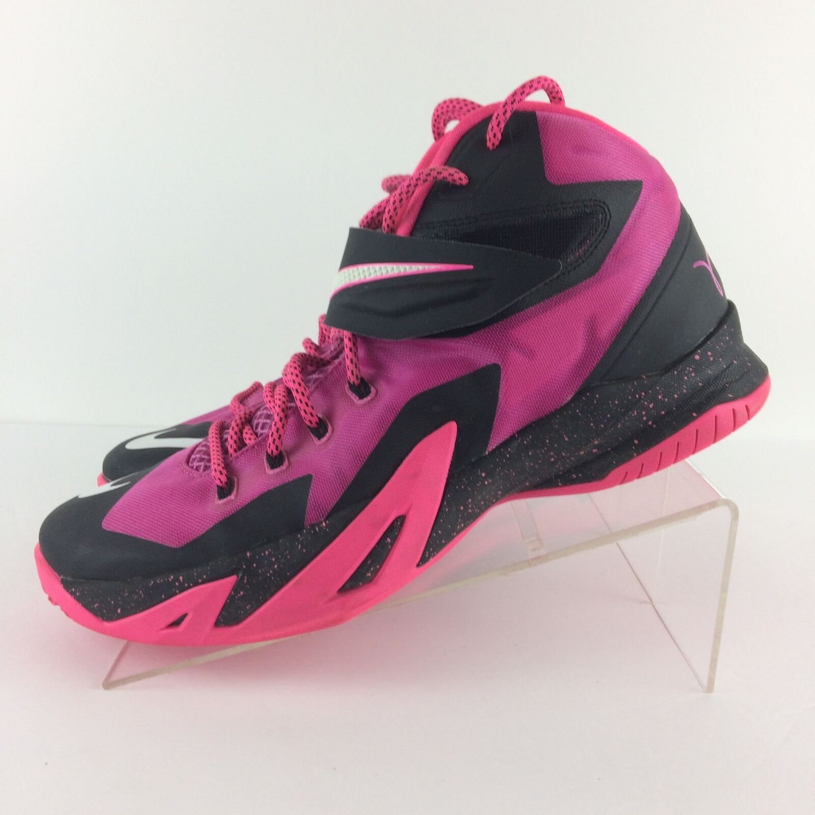Nike Mens Lebron Soldier Soldier Soldier VIII 8 shoes Breast Cancer, Pink 653641-610, Size 10.5 acf2a2