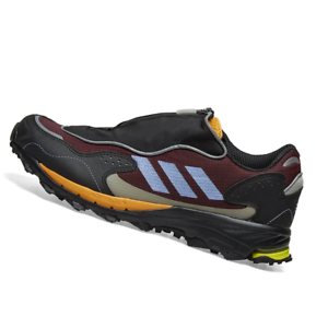 ADIDAS-MENS-Shoes-Response-Hoverturf-Zip-Maroon-Purple-amp-Yellow-OW-FU6622