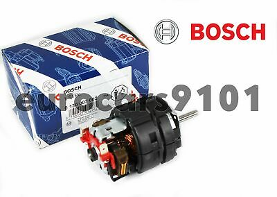 BMW BOSCH Porsche HVAC Blower Motor NEW OEM 0130007002