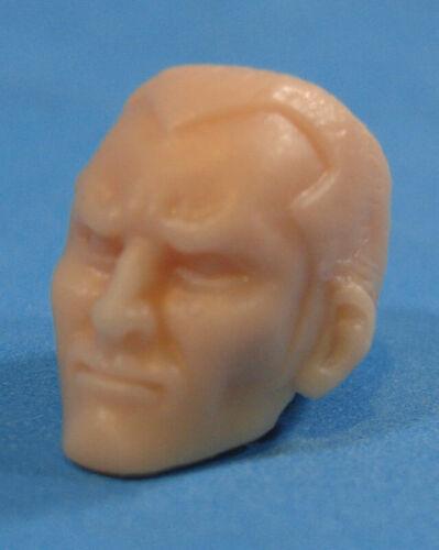 """MH227 Custom Cast Male head for use with 3.75/"""" GI Joe Star Wars Marvel figures"""