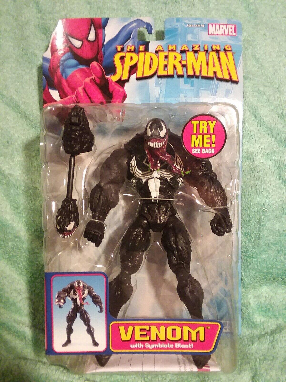 VENOM    Symbiote blast Marvel legends Amazing Spider Man 6 figure TOYBIZ 2006