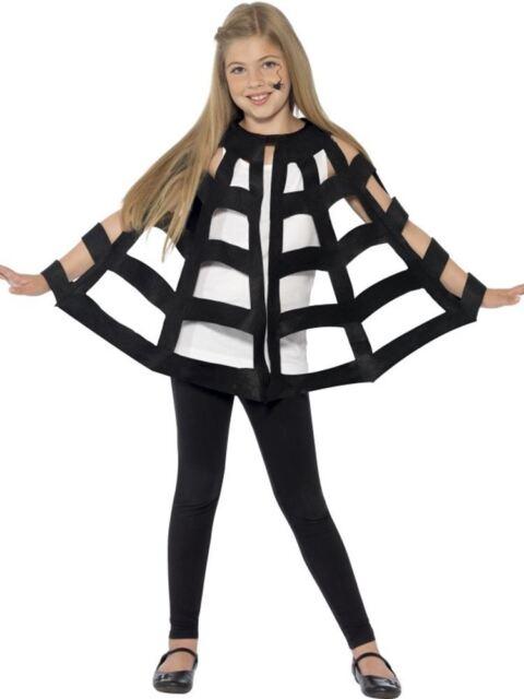 Araña Capa, Talla Única, Halloween Niños Disfraz, Unisex