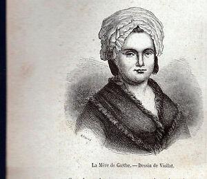 JOHANN-WOLFGANG-VON-GOETHE-XILOGRAFIA-DELLA-MADRE-DA-LE-MAGASIN-PITTORESQUE-1868