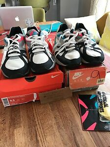 brand new 9387f 65f3e Image is loading Nike-Air-Structure-OG-Retro-Vintage-running-shoes-