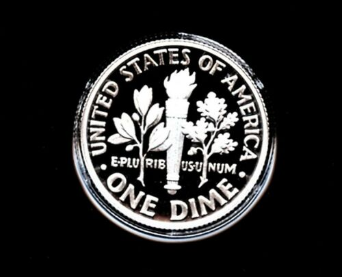 2019 S Silver 10C PROOF Roosevelt Dime Deep Cameo **IN HAND** Early Strike