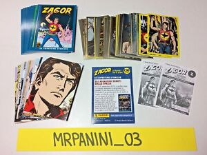 ZAGOR figurine Panini Set completo 36 CARDS Nuovo