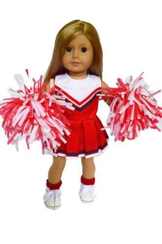 Red Cheerleading Outfit for American Girl Dolls