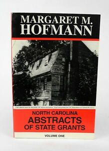 North-Carolina-Abstracts-of-State-Grants-Vol-1-Margaret-Hofmann