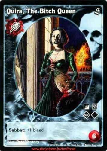 Malkavian antitribu // Sabbat The Bitch Queen VTES V:TES Quira