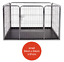 Heavy-Duty-4pc-Puppy-Play-Pen-Dog-Crate-Whelping-Box-Rabbit-Enclosure-Dog-Cage thumbnail 8