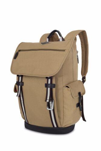 "MacBook Pro Backpack Book Bag Heritage Supply Ridge Cotton 15/"" Laptop New"