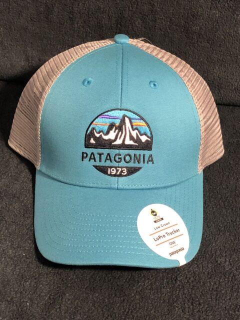Patagonia Hats Fitz Roy Scope LoPro Trucker Cap Grey