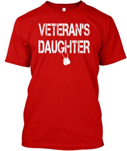 Veteran/'s Daughter Mine Raised Me Some People Have To Wait Premium Tee T-Shirt