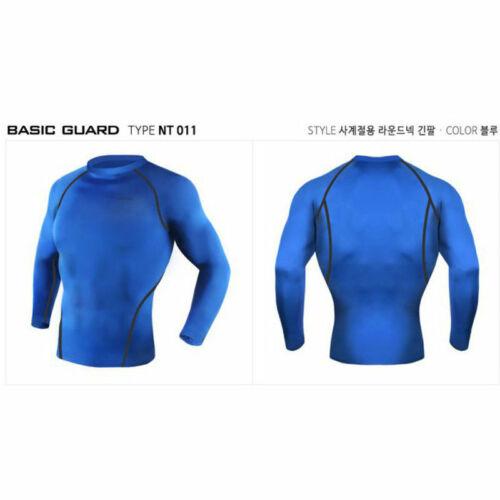 Take Five Mens Skin Tight Compression Base Layer Running Shirt S~2XL NT001