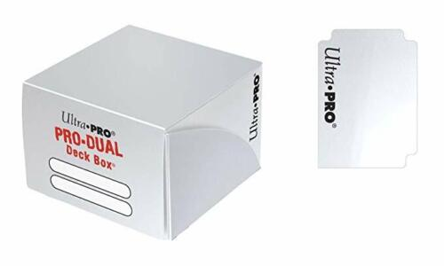 PRO DUAL 180 Deck Box Ultra Pro Magic WHITE BIANCO Porta Mazzo Scatola Carte