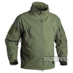 Helikon Tex Trooper Jacket Soft Shell Olive Green Outdoor Jacke Mit Traditionellen Methoden