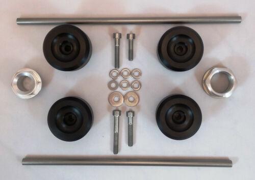 Husqvarna FS FE 701 Sturzpads Achspads in Top Qualität Plud /& Play