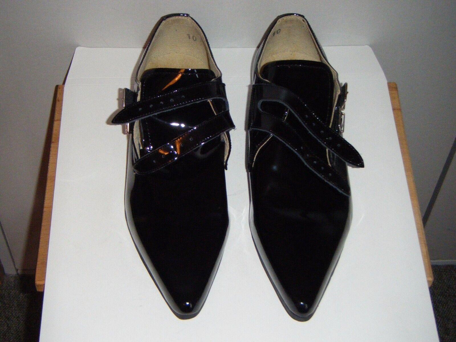 Zapatos casuales salvajes Underground Howard Winklepicker Correa Zapato: tamaño 10