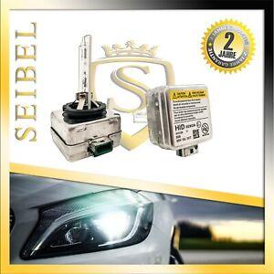 2* D3S Xenon Brenner Scheinwerfer lampen Birne 12V 4300K Für Seat Skoda Volvo