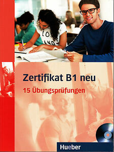 Hueber Zertifikat B1 Neu 15 Ubungsprufungen Mp3 Cd At Brand New